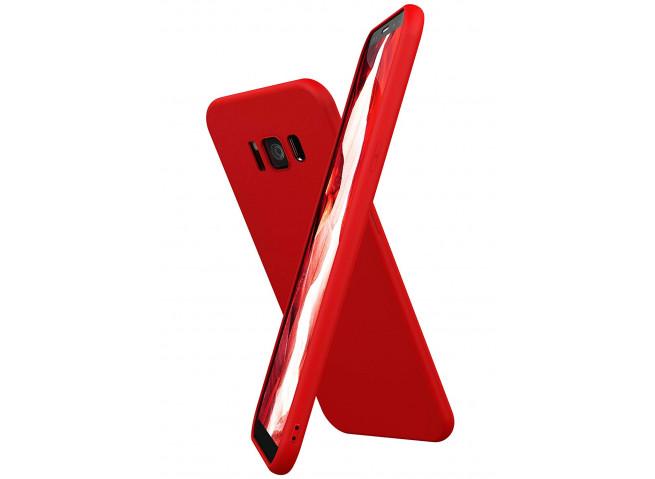 Coque Samsung Galaxy S8 Red Matte Flex