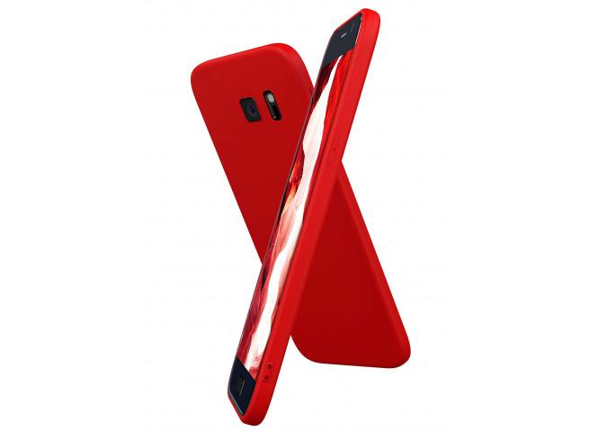 Coque Samsung Galaxy S7 Red Matte Flex