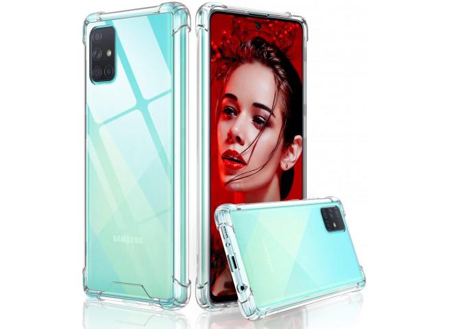 Coque Samsung Galaxy A71 Clear Shock