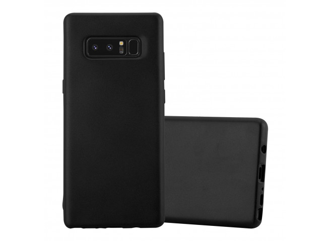 Coque Samsung Galaxy Note 8 Black Matte Flex
