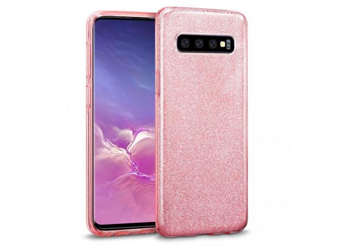 Coque Samsung Galaxy S10e Glitter Protect-Rose