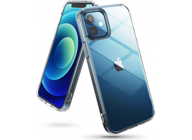 Coque iPhone 12/12 Pro Clear Hybrid