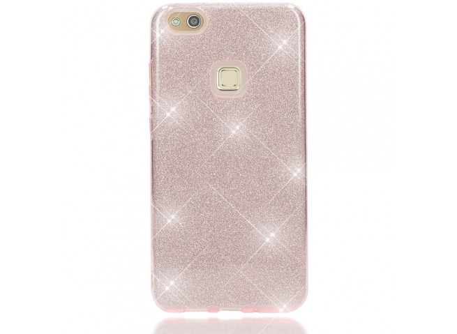 Coque Huawei P10 Lite Glitter Protect-Rose