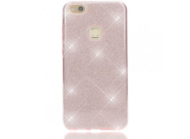 Coque Huawei P8 Lite 2017 Glitter Protect-Rose