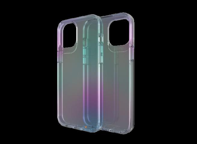 Coque iPhone 12/12 Pro GEAR4 D30 Crystal Palace IRIDESCENT (anti-choc)
