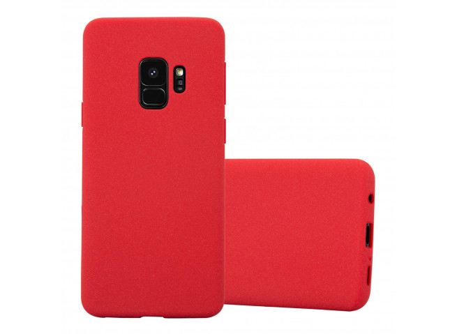 Coque Samsung Galaxy S9 Red Matte Flex