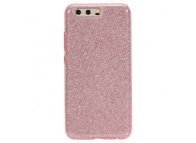 Coque Huawei P10 Glitter Protect-Rose