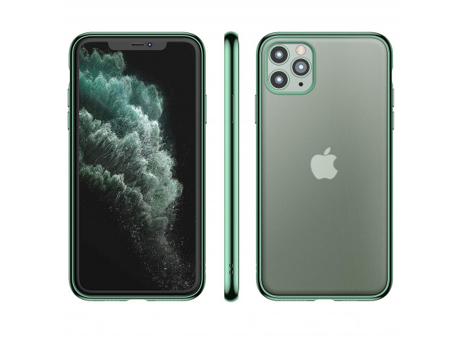 Coque iPhone 11 Pro Green Flex
