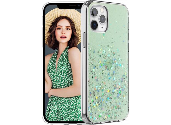 Coque iPhone 12/12 Pro Liquid-Green