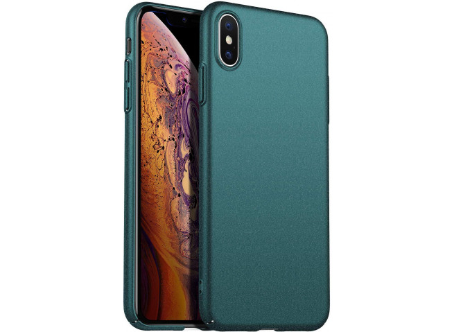 Coque iPhone XS Max Duck Egg Blue Matte Flex
