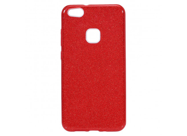 Coque Huawei P Smart Glitter Protect-Rouge