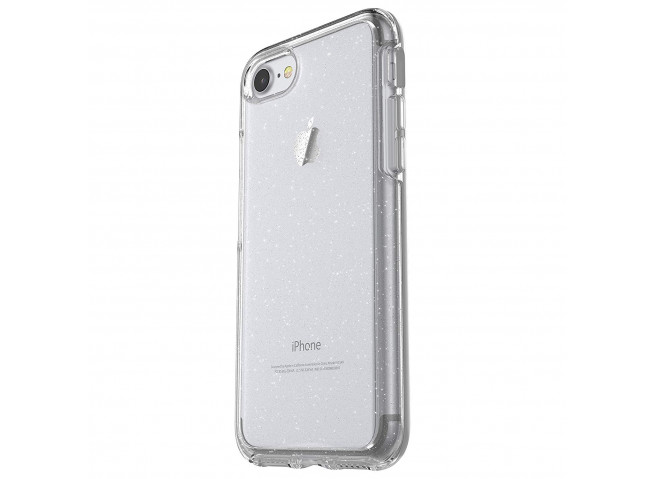 Coque iPhone 6/6S/7/8 No Shock Glitter-Silver