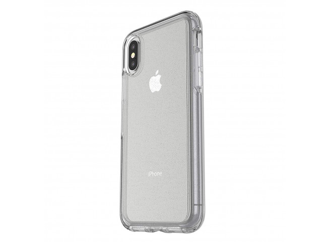 Coque iPhone XR No Shock Glitter Silver