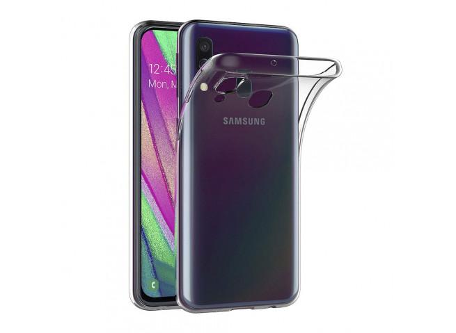 Coque Samsung Galaxy A40 Clear Hybrid