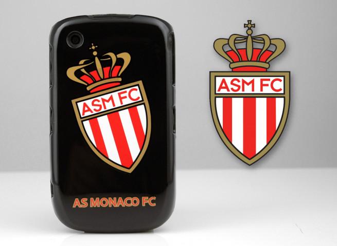 Coque Officielle Blackberry 8520 A.S. Monaco FC