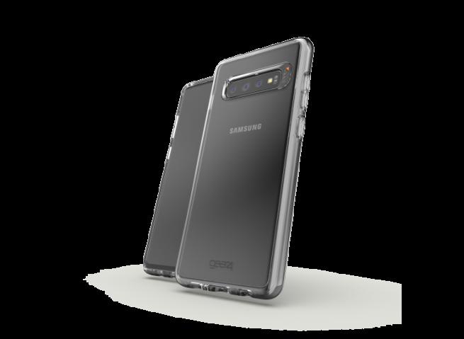 Coque Samsung Galaxy S10 GEAR4 D30 Crystal Palace (anti-choc)