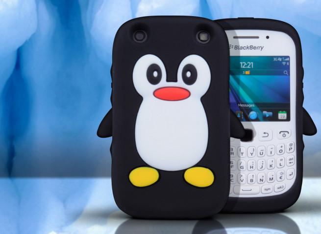 Coque BlackBerry Curve 9320 Pingouin