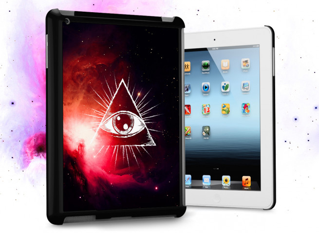 Coque iPad Retina Infinity Eye