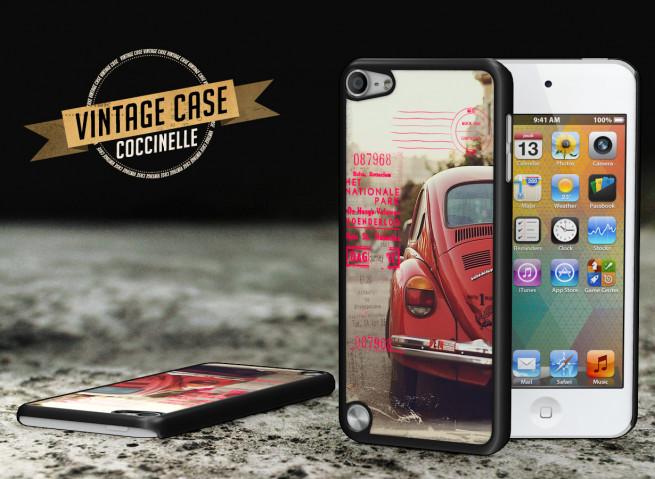 Coque iPod Touch 5 Vintage Case - Beetle Spirit
