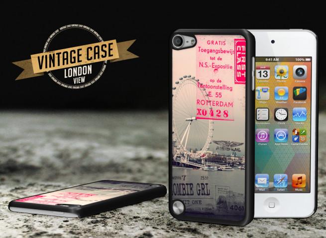 Coque iPod Touch 5 Vintage Case - London View