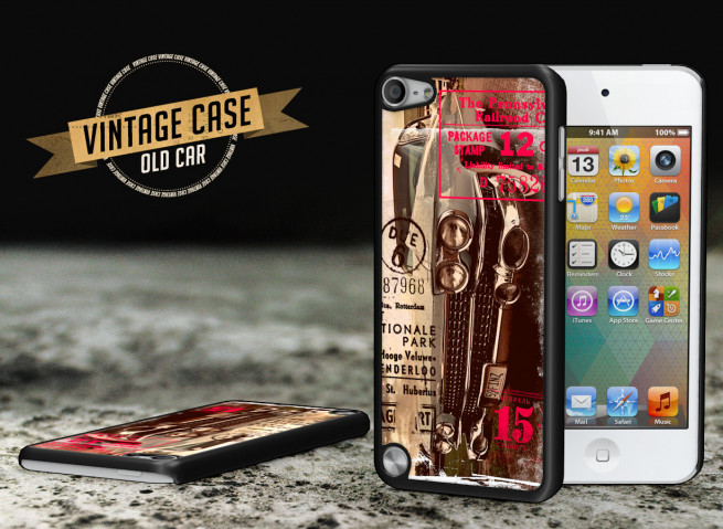 Coque iPod Touch 5 Vintage Case - Old Car