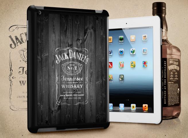 Coque iPad Retina/iPad 2 Old Jack
