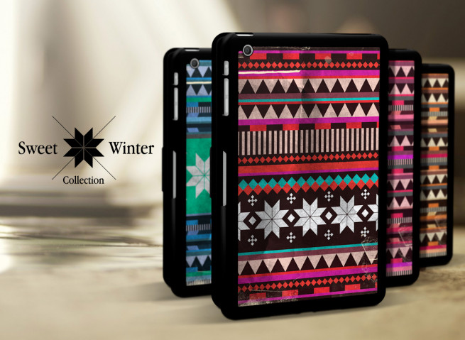 Etui Smart Cover iPad Mini Black Collection Sweet Winter