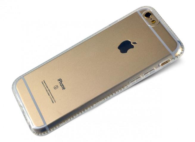 coque iphone 6 noir strass