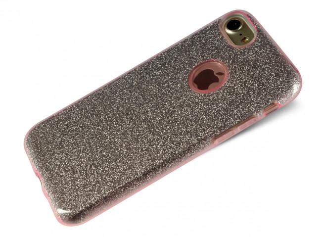 Coque iPhone 7 Plus Glitter Protect-Rose