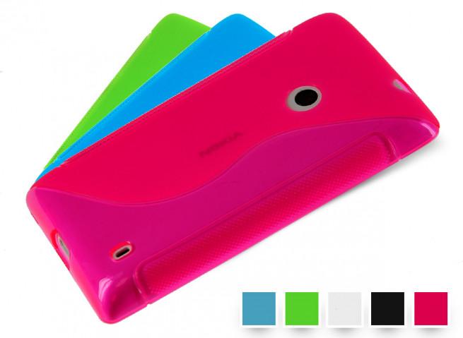 Coque Nokia Lumia 520 Silicone Grip
