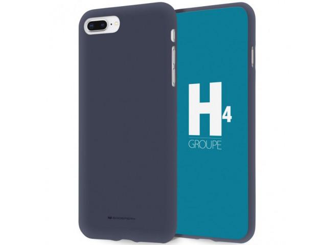Coque Huawei Mate 20 Blue Matte Flex