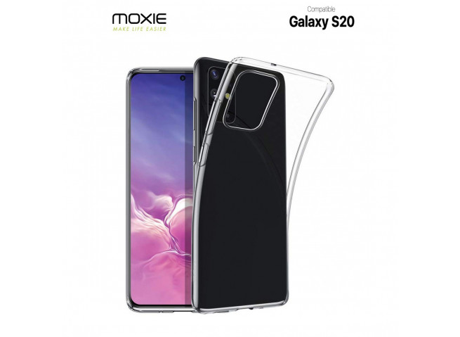 Coque Samsung Galaxy S20 Clear Flex
