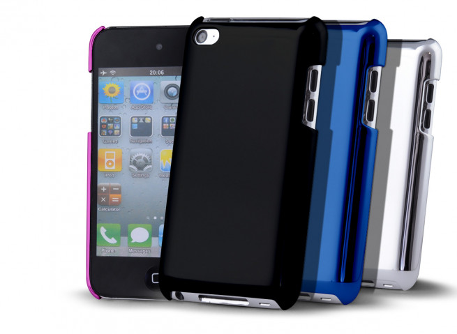 "Coque iPod Touch 4 ""Chrome Case"""