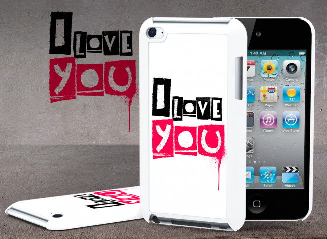 Coque iPod Touch 4 Street Love