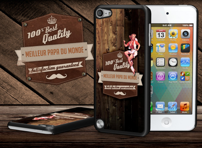 Coque iPod Touch 5 Vintage Best Father