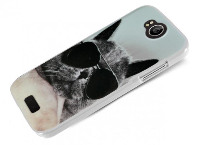 Coque Wiko Cink Peax 2/Cink Peax Cat Glasses
