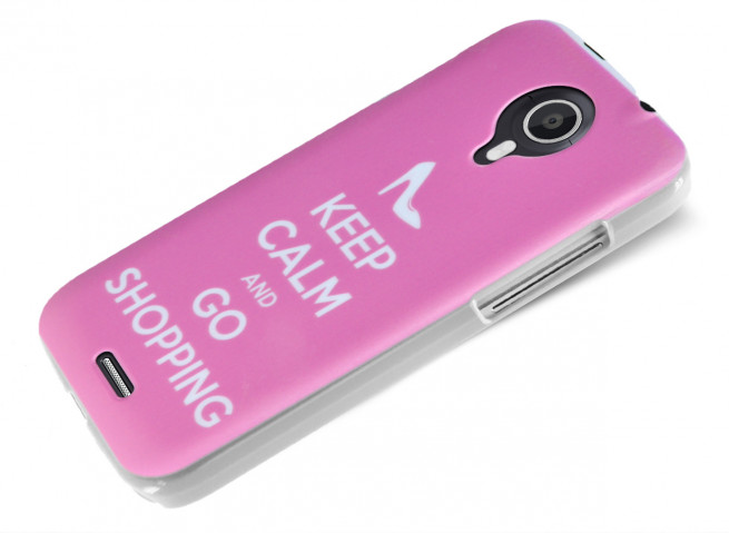 Coque Wiko Darknight Keep Calm Shopping