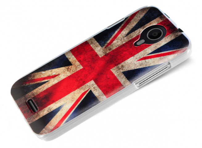 Coque Wiko Darknight British Flag