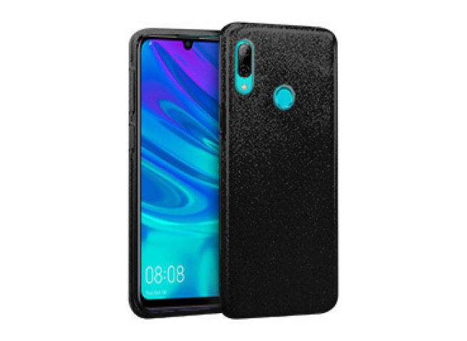 Coque Honor 10 Lite/Huawei P Smart 2019 Glitter Protect-Noir
