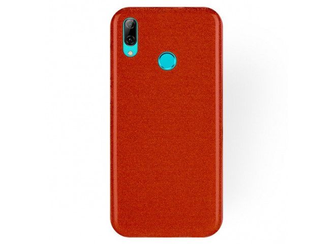 Coque Huawei P Smart 2019 Glitter Protect-Rouge