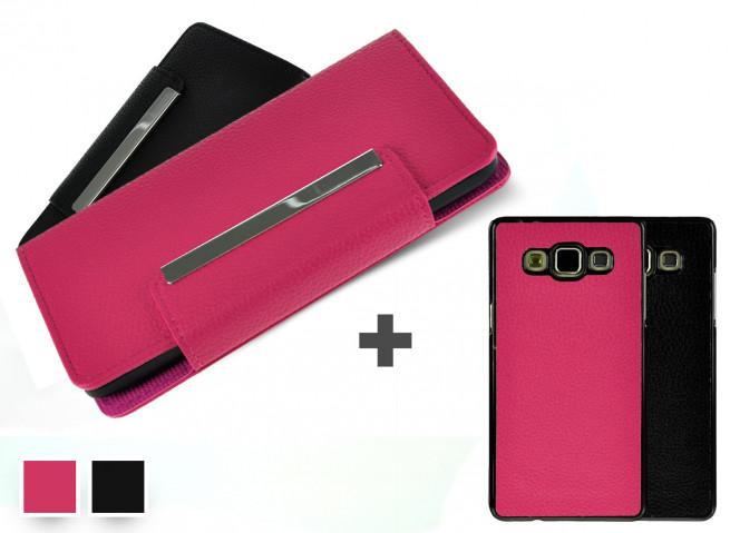 Etui Wallet + Coque amovible Samsung Galaxy Grand Prime