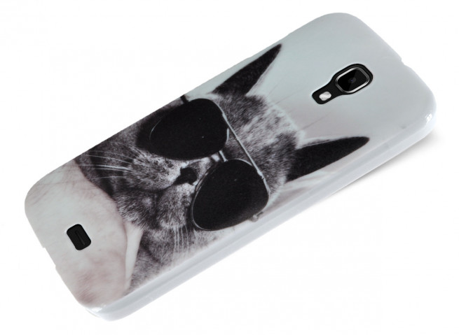 Coque Wiko Bloom Cat Glasses