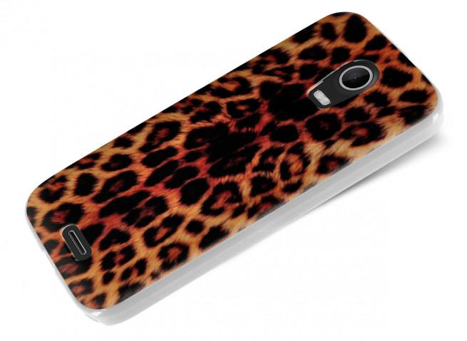 Coque Wiko Darkmoon Leopard