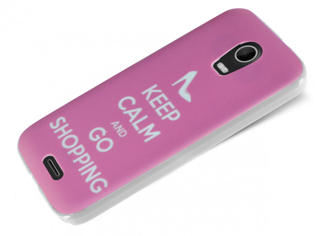 Coque Wiko Darkmoon Keep Calm Shopping