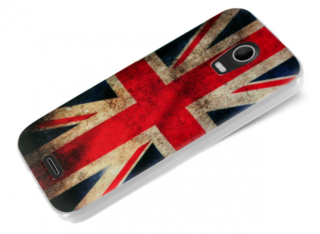 Coque Wiko Darkmoon British Flag
