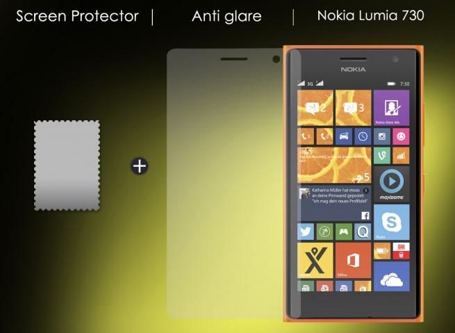 film protecteur nokia lumia n730 anti reflet master case. Black Bedroom Furniture Sets. Home Design Ideas