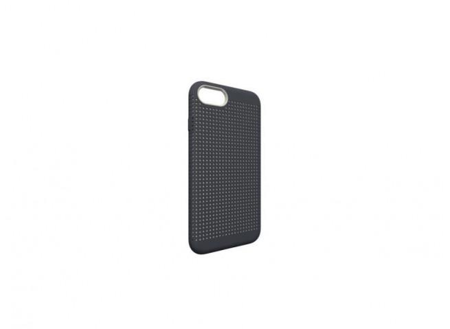 Coque iPhone 7 / iPhone 8 QDOS MATRIX-Gris Anthracite