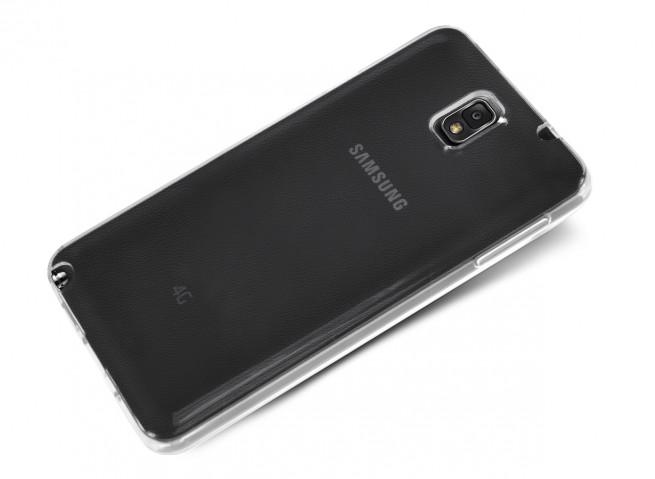 Coque Samsung Galaxy Note 3 Clear Flex