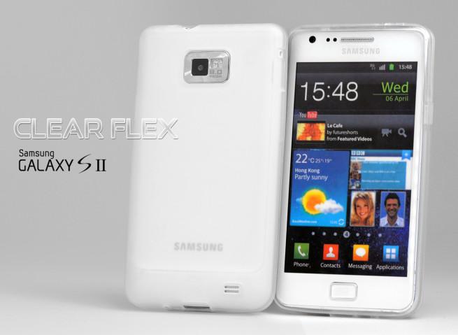Coque Samsung Galaxy S2 i9100 Clear Flex