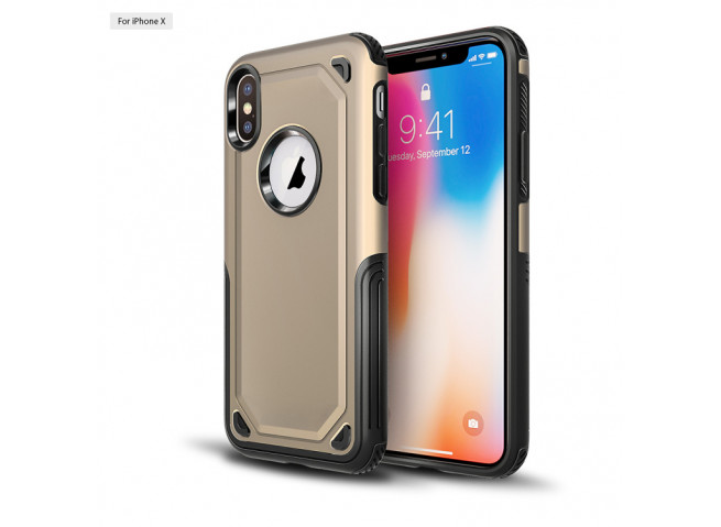 Coque iPhone XS Max No Shock Case-Or